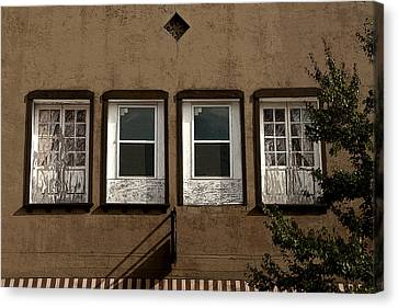 Four Windows Canvas Print