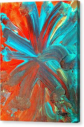 Fourth Of July Canvas Print by Jim  Furlong