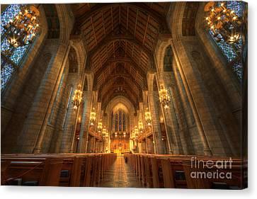 Fourth Presbyterian Church Chicago II Canvas Print by Wayne Moran