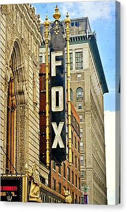 Canvas Print - Fox Theater 1 by Marty Koch