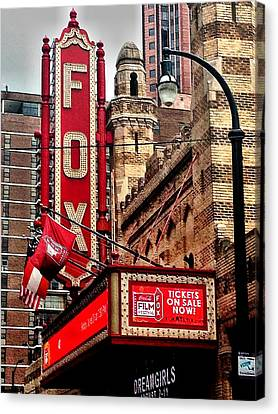 Fox Theater - Atlanta Canvas Print by Robert L Jackson