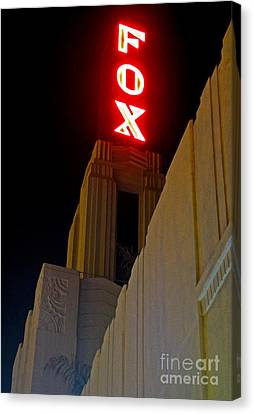 Fox Theater - Pomona - 02 Canvas Print by Gregory Dyer