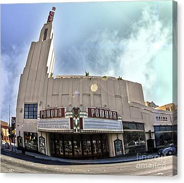 Fox Theater - Pomona - 06 Canvas Print by Gregory Dyer