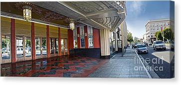 Fox Theater - Pomona - 07 Canvas Print by Gregory Dyer