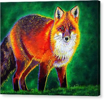 Most Canvas Print - Foxfire by Teshia Art