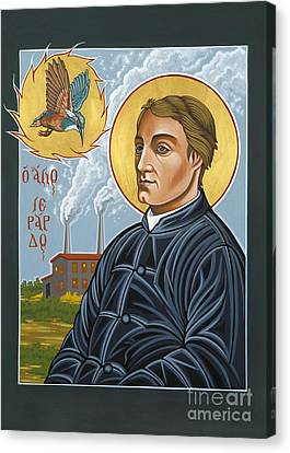 Fr. Gerard Manley Hopkins The Poet's Poet 144 Canvas Print by William Hart McNichols
