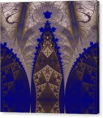 Fractal 00206 Canvas Print by George Cuda