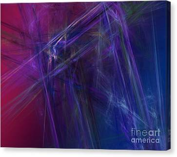 Fractal Abstract Canvas Print