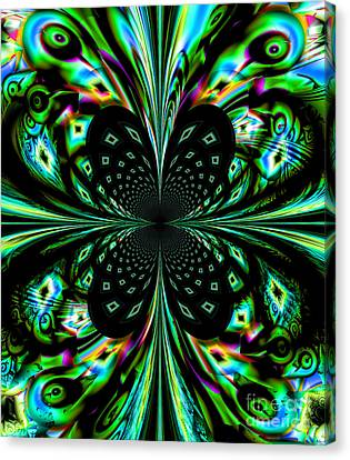 Fractal Canvas Print by Arlene Sundby