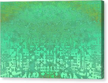 Fractal Art Canvas Print by Carol & Mike Werner