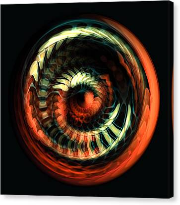 Fractal Bubble 2 Canvas Print by Hakon Soreide