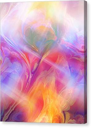 Fractal Dream Canvas Print by Ann Croon