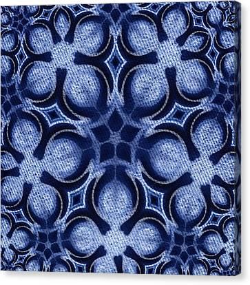 Fractal Floral Pattern Canvas Print by Hakon Soreide