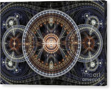 Fractal Inception Canvas Print by Martin Capek