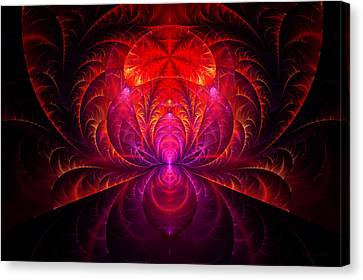 Fractal - Jewel Of The Nile Canvas Print by Mike Savad
