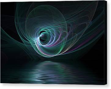 Fractal Lake Canvas Print