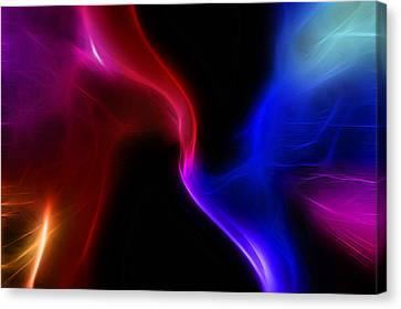 Fractal Nebula Canvas Print by Steve Ohlsen