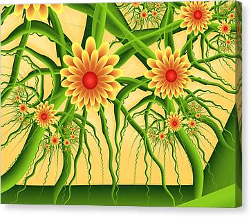 Fractal Summer Pleasures Canvas Print