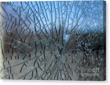Fractured Heart Canvas Print