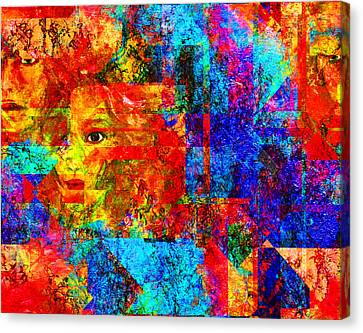 Fractured Canvas Print by Patricia Motley