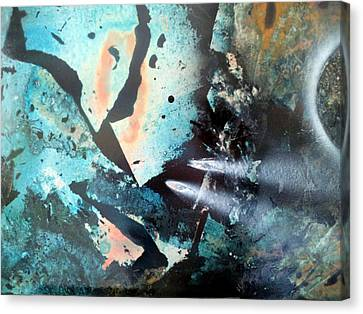Fractured Planet Canvas Print