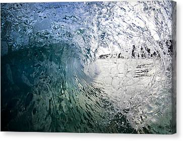 Fractured Tube. Canvas Print by Sean Davey