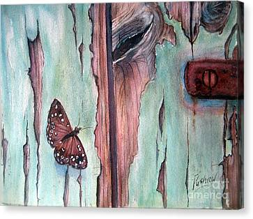 Fragile Beauty Canvas Print by Patricia Pushaw