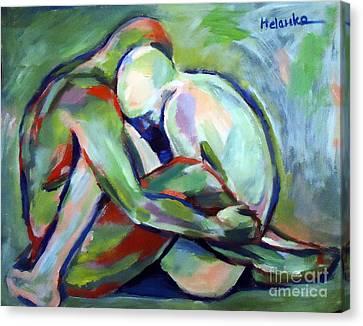 Fragility Canvas Print by Helena Wierzbicki