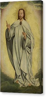 Fragment With The Transfiguration Of Christ Resurrection Canvas Print