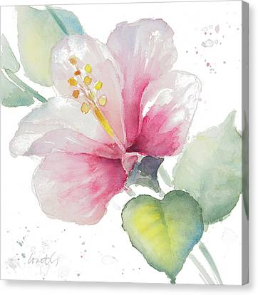 Fragrant Hibiscus II Canvas Print by Lanie Loreth