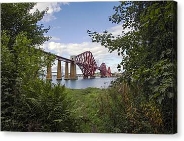 Framing The Forth Bridge Canvas Print