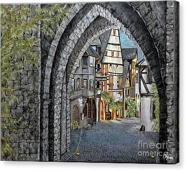 France Canvas Print by Mylene Le Bouthillier