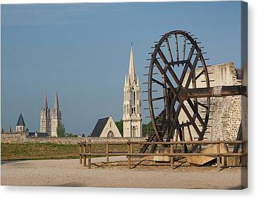 Chateau Canvas Print - France, Normandy, Caen, Chateau De by Walter Bibikow