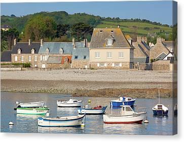 France, Normandy, Omonville La Rogue Canvas Print