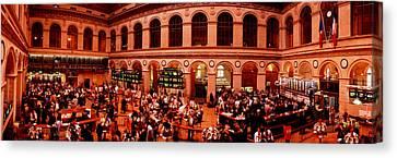 France, Paris, Bourse Stock Exchange Canvas Print