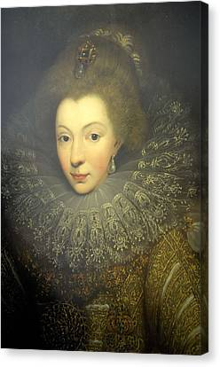 France. Pau. Castle. Portrait Canvas Print