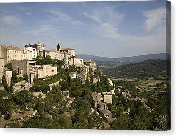 France, Provence, Gordes. � Angelo Canvas Print by Tips Images