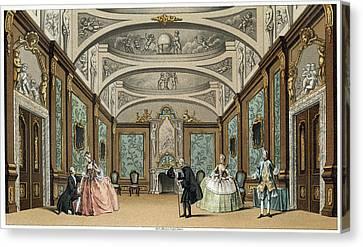 France Theatre, C1750 Canvas Print by Granger