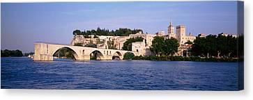 France, Vaucluse, Avignon, Palais Des Canvas Print by Panoramic Images
