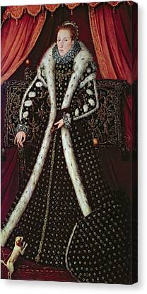 Frances Sidney, Countess Of Sussex, C.1565 Panel Canvas Print