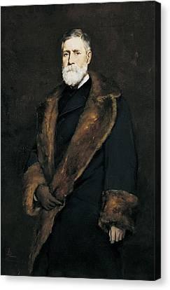 Francis Boott, 1881 Oil On Canvas Canvas Print
