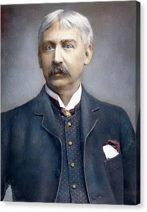 Francis Brett Harte (1836-1902) Canvas Print by Granger