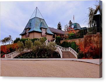 Francis Ford Coppola Wine Tasting Entrance Canvas Print