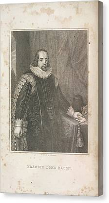 Francis Lord Bacon Canvas Print by British Library