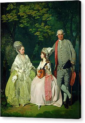 Francis Wheatley, Family Group, British, 1747-1801 Canvas Print by Litz Collection