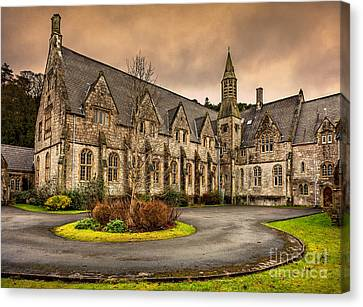 Franciscan Friary Canvas Print by Adrian Evans