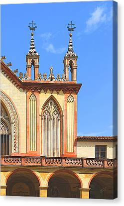 Franciscan Monastery In Nice France Canvas Print by Ben and Raisa Gertsberg
