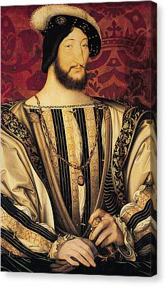 Francis Canvas Print - Francois I by Jean Clouet