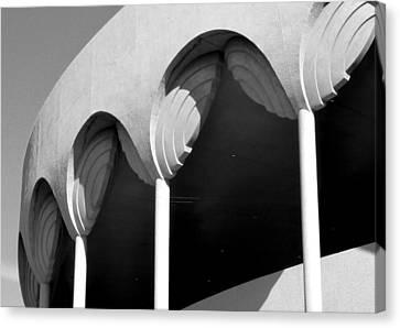 Frank Lloyd Wright Designed Auditorium Detail Canvas Print by Karyn Robinson