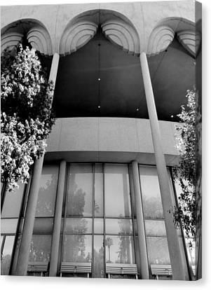 Frank Lloyd Wright Designed Auditorium Canvas Print by Karyn Robinson